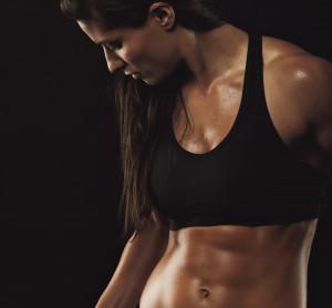 女性の細マッチョという体型のイメージ画像