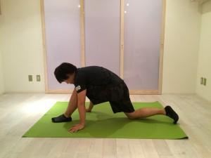 腰痛ストレッチ腸腰筋1