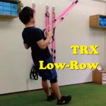 TRX Low-Rowで背中のトレーニング