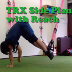 TRX Side Plankで脇腹をガッツリ鍛える!