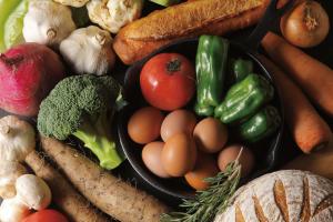 栄養たっぷりの野菜の画像