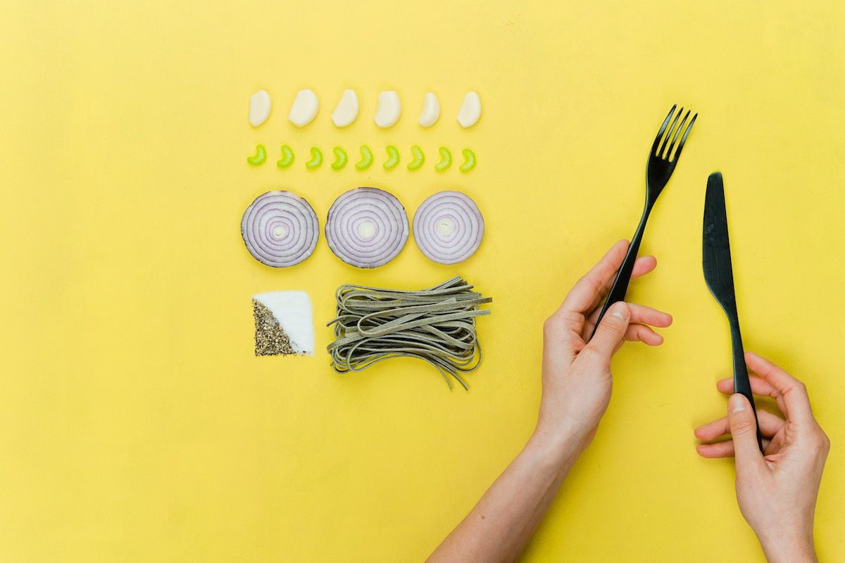 ダイエットは食事が重要ということを表す画像