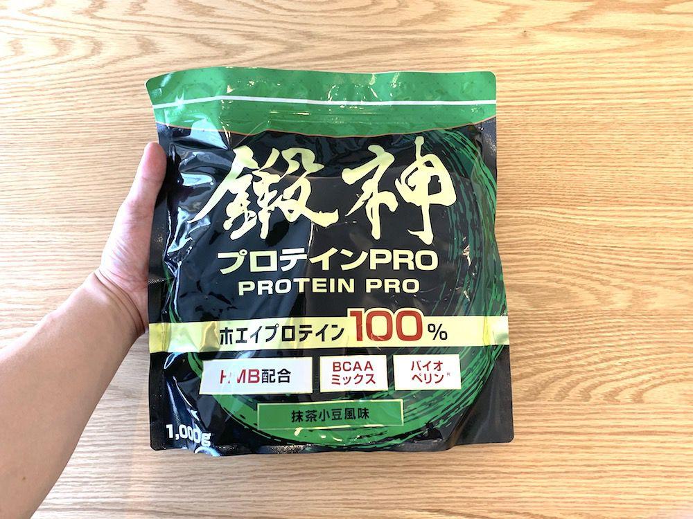 抹茶小豆風味のパッケージ写真